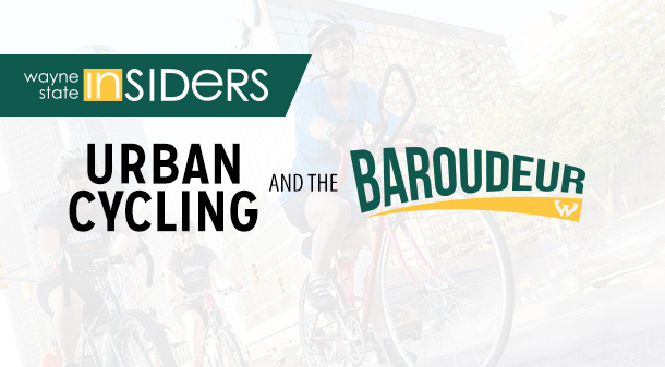 Bike with the Wayne State Insiders