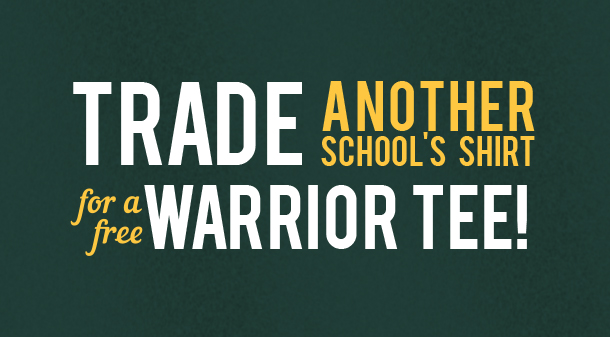 Swap and show your Warrior pride